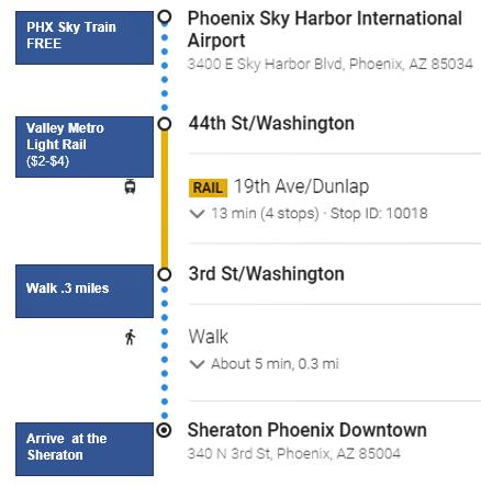 Phoenix Public Transportation Options